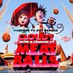 映画【くもりときどきミートボール】見どころ/あらすじ/感想~空からハンバーガーが!~